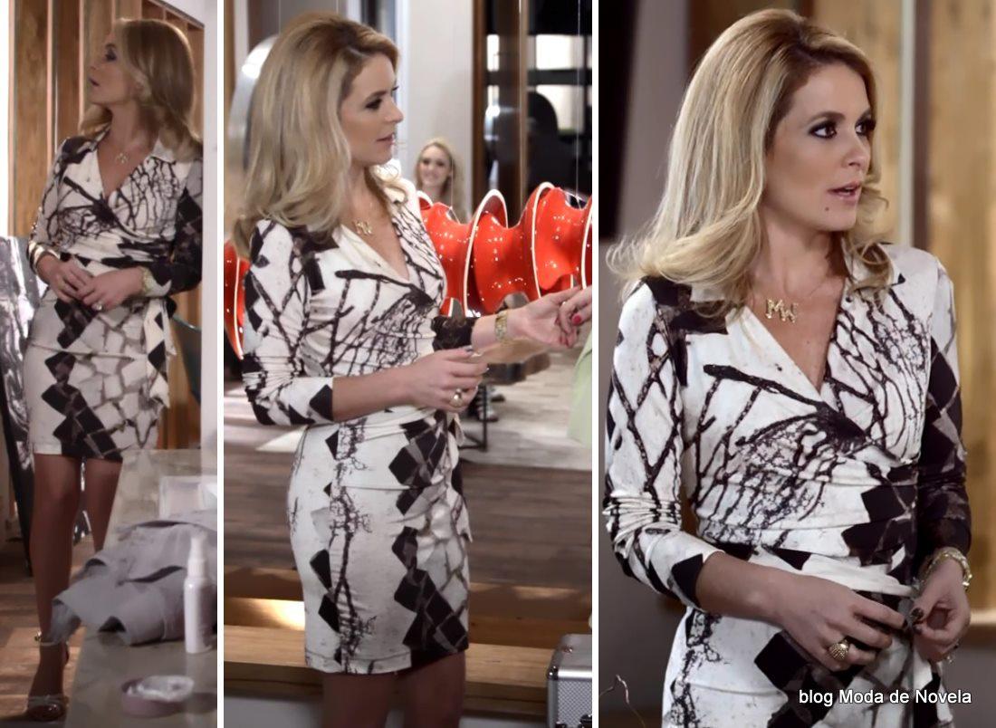 moda da novela Geração Brasil - vestido da Pamela dia 25 de maio