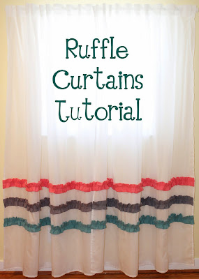 ruffle curtain tutorial