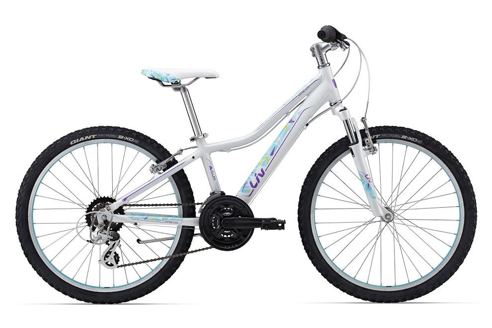 Xe dap the thao dia hinh Giant Areva 24, xe dap the thao, xe dap trinx, xe đạp thể thao chính hãng, xe dap asama, Areva 1 24 Pearl White
