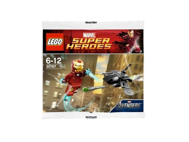 レゴ スーパーヒーローズ アイアンマン対ファイティングドローン 30167