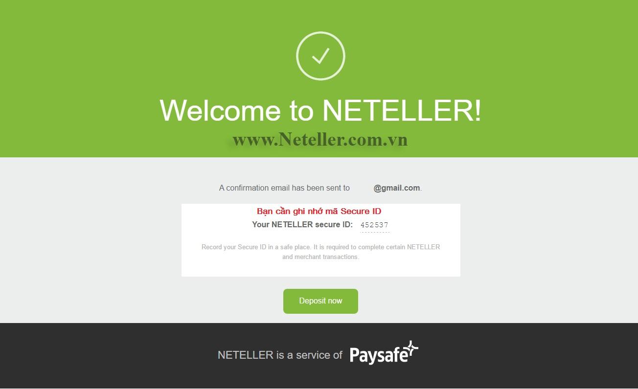 Mã Chuyển tiền Neteller