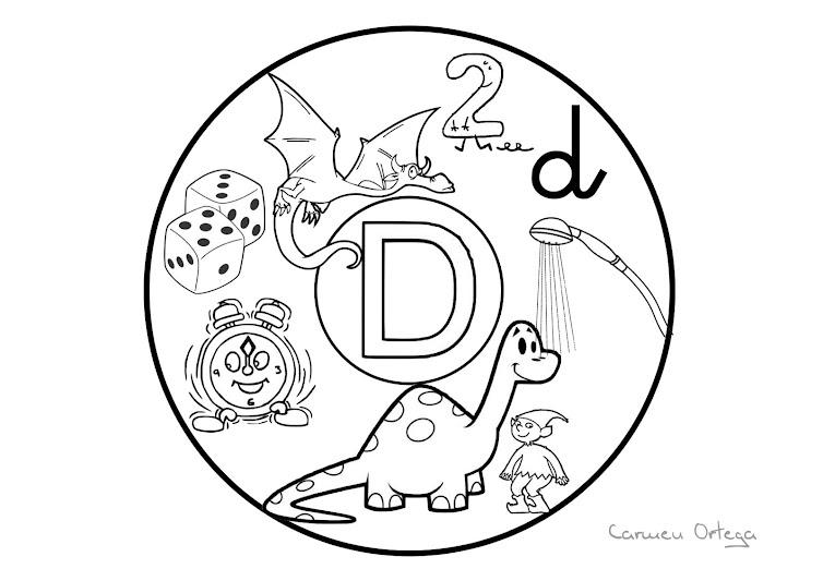 Maestra de Infantil: Mandalas abecedario.