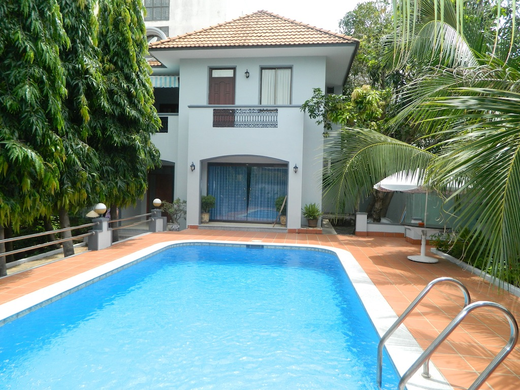 Spacious 600m2 lot size 4 Beds VILLA for Rent Vung Tau Center