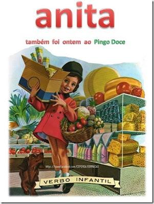 Anita também foi ontem ao Pingo Doce
