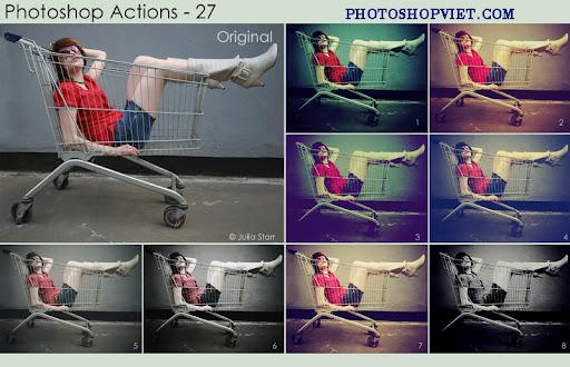 Bộ Action Blend chỉnh màu tự động đẹp