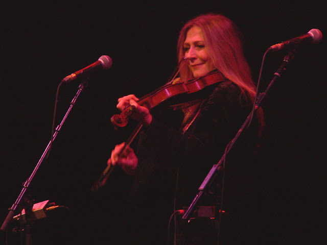 Mairead Ni Mhaonaigh of Altan at the Royal Concert Hall