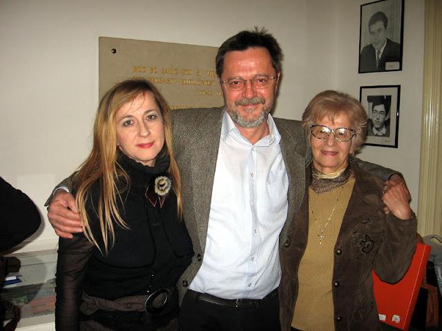 Ivica Smolec - s Majom i Anicom Gjerek, DHK, Zagreb, 2006.