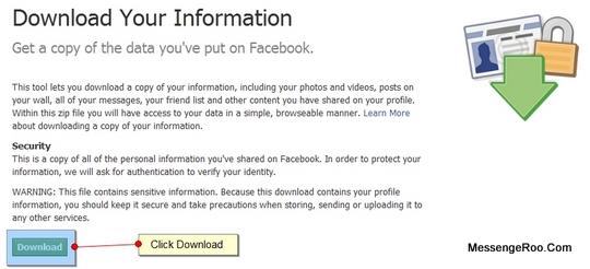 Download Get Copy Data Facebook