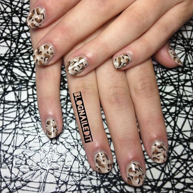 Camo nails for shayna nailed it the nail art blog camo nails for shayna prinsesfo Gallery