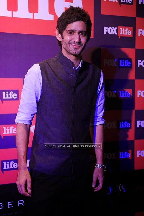 Gaurav Kapoor during the launch of FOX Traveller's new television channel FOX Life, in Mumbai, on July 16, 2014.