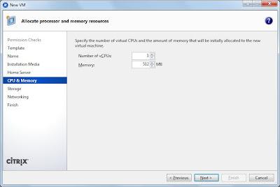 Importar máquina virtual a Citrix XenServer desde fichero xva exportado