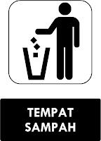 Rambu Tempat Sampah