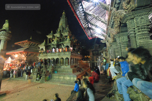 Krishna Mandir temple at Patan