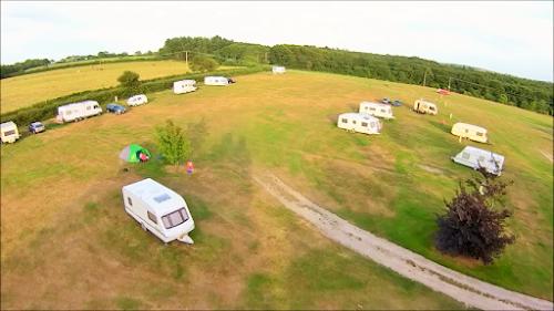 Camping  at Kite Hill Farm