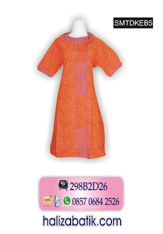 Dress Batik, Dress Modern, Busana Batik