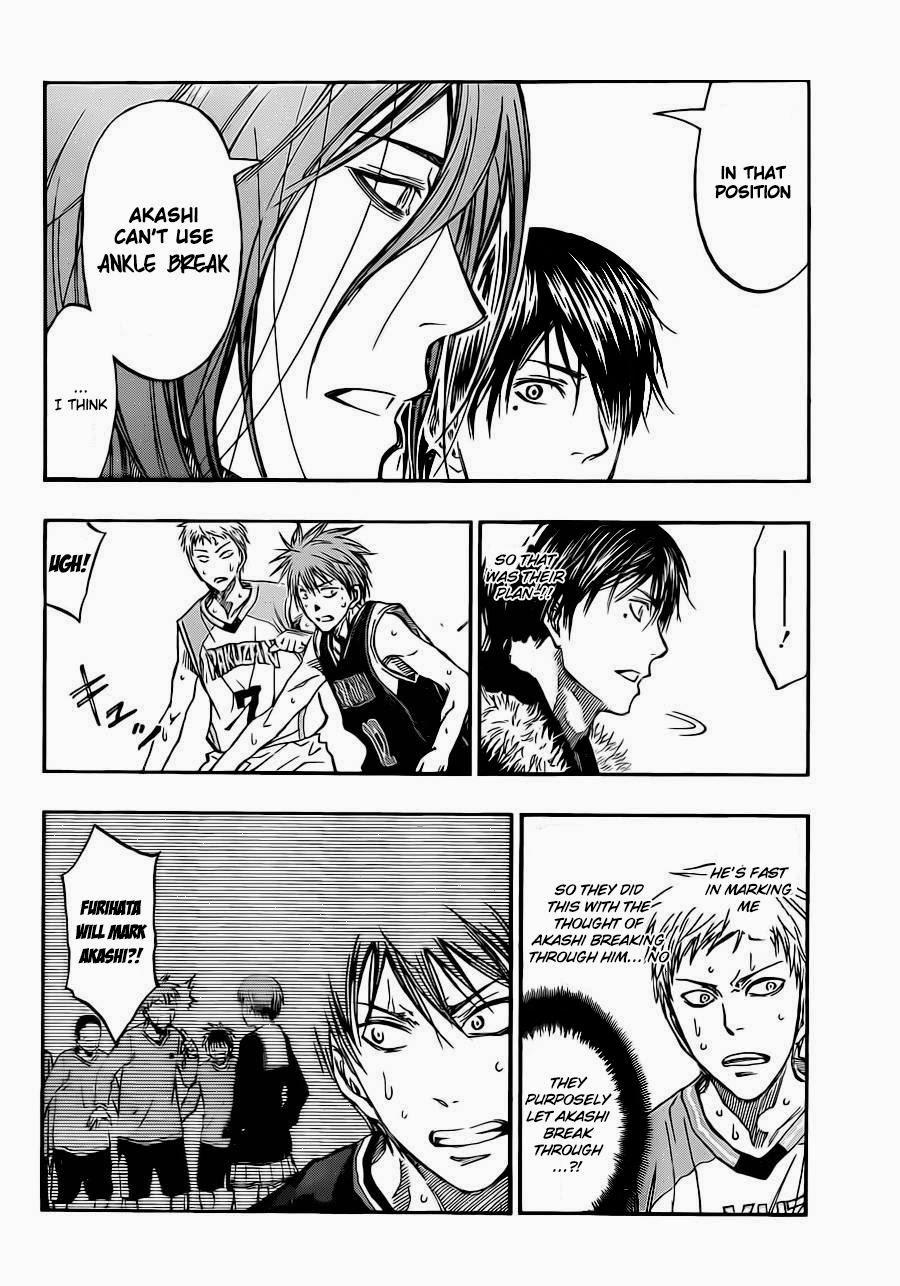 Kuroko no Basket Manga Chapter 240 - Image 08
