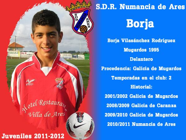 ADR Numancia de Ares. Xuvenís 2011-2012. BORJA.