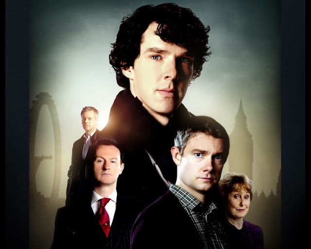 Sherlock Season Three Poster