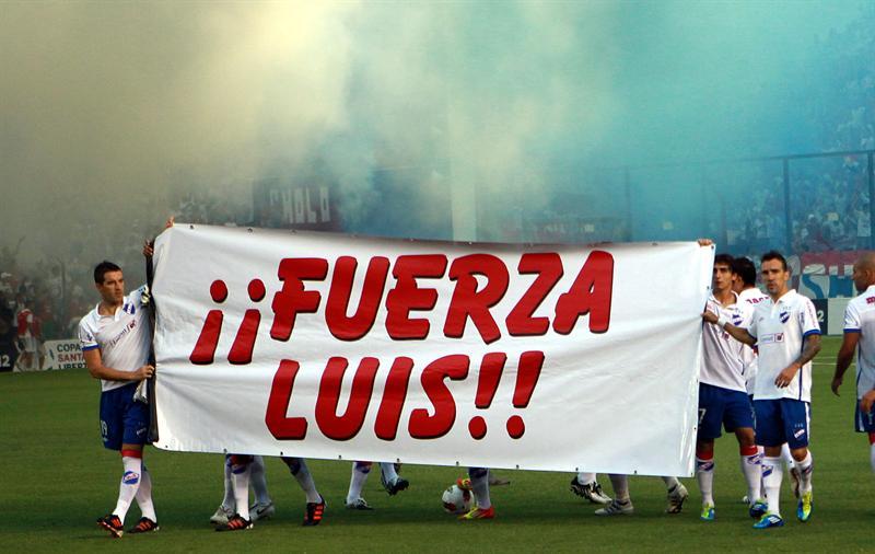 Suárez agradeció el apoyo de la hinchada