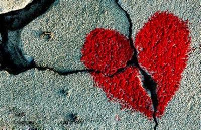 Ảnh trái tim tan vỡ