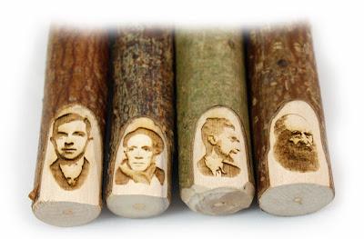 Naturholz Bleistifte und Grafitstifte