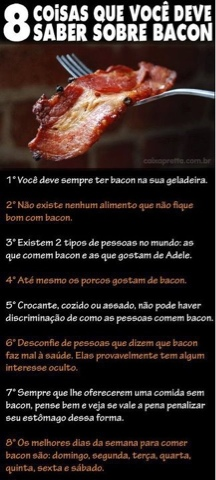 bacon, alimentação,