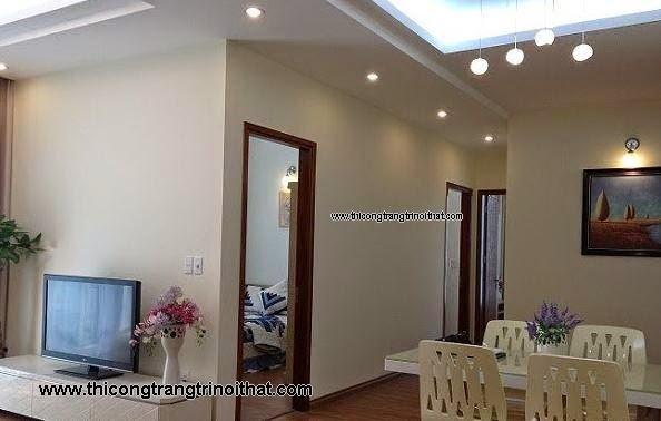 Thi công nội thất căn hộ Phú Nhuận