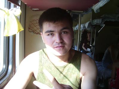キルギス系男子