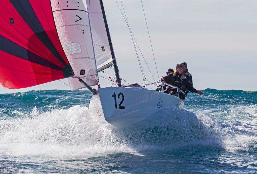 J/70 sailing YC Monaco Primo Cup