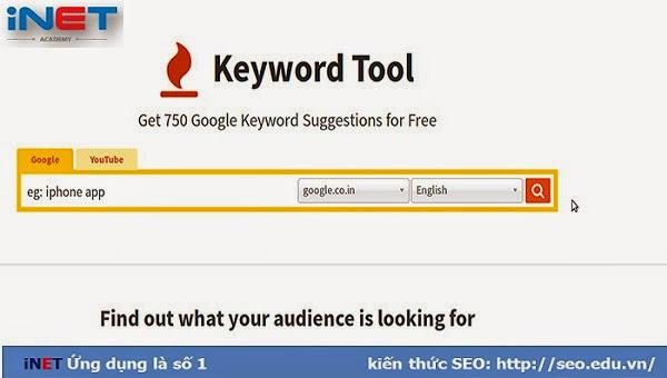 Keyword toolio
