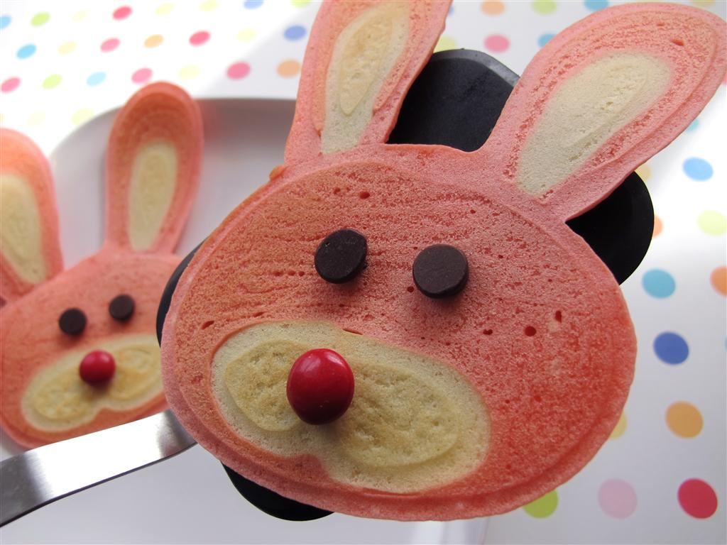 Be Brave Keep Going How To Make Bunny Pancakes