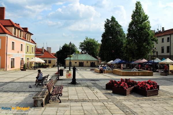 Sandomierz nad Wisłą - mały rynek