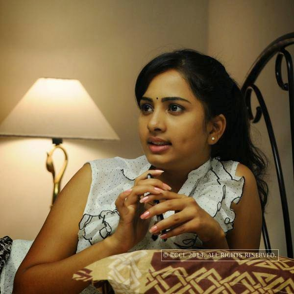 Srushti Dange in a still from the movie Megha.<br /> <br />