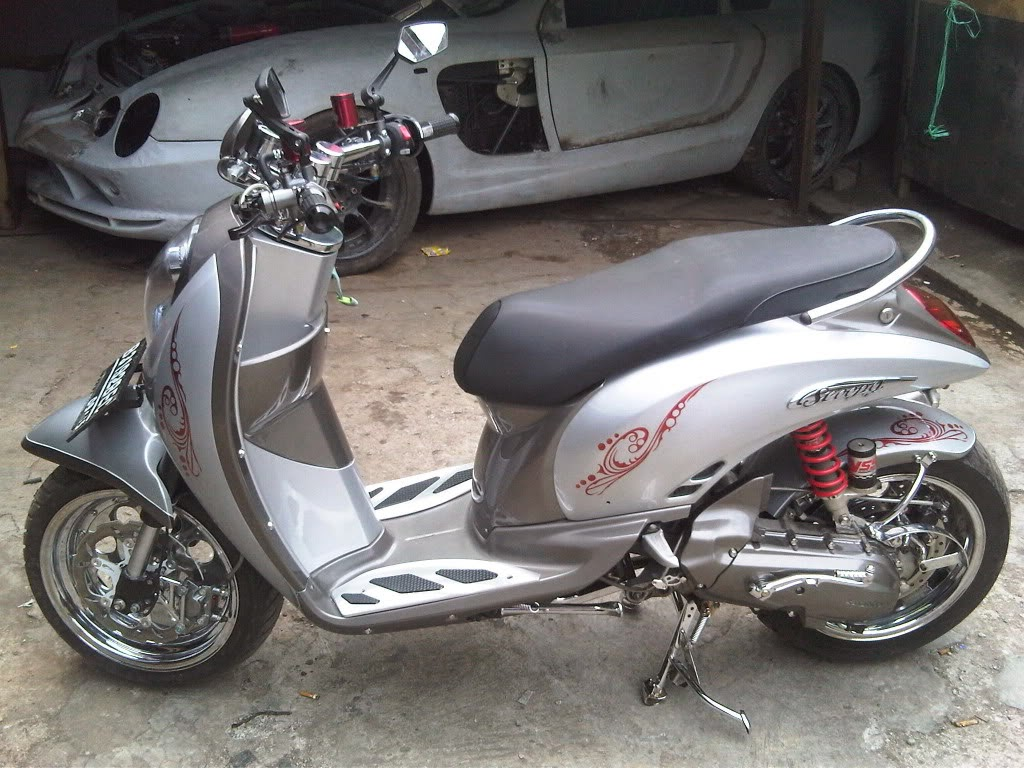 Scoopy Fi Modifikasi