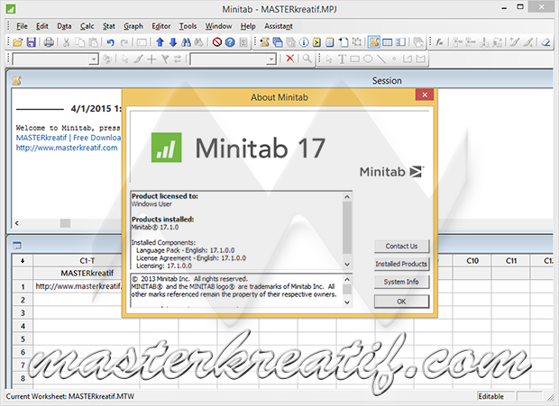 how to download minitab 16 for free