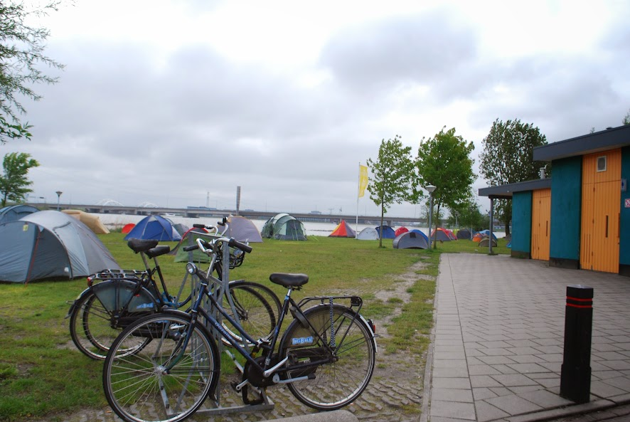 Camping in Amsterdam