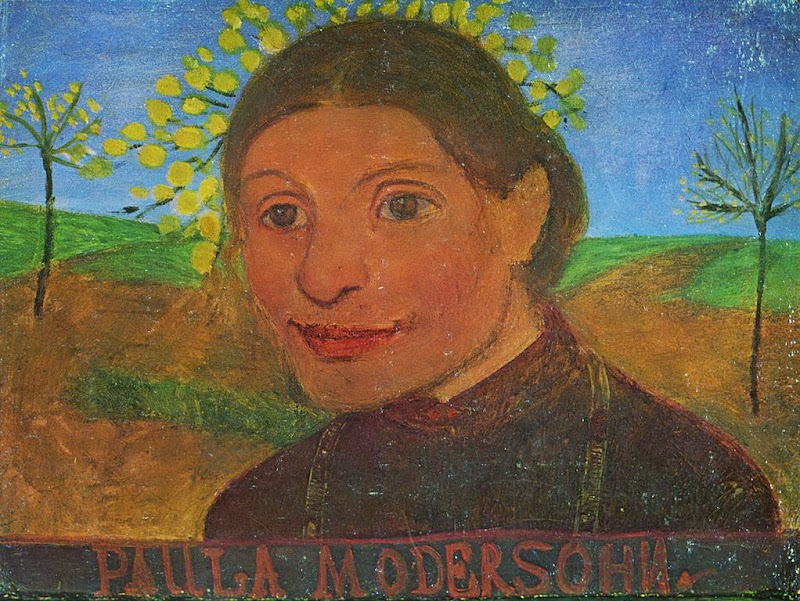 Paula Modersohn-Becker - Self portrait, 1902