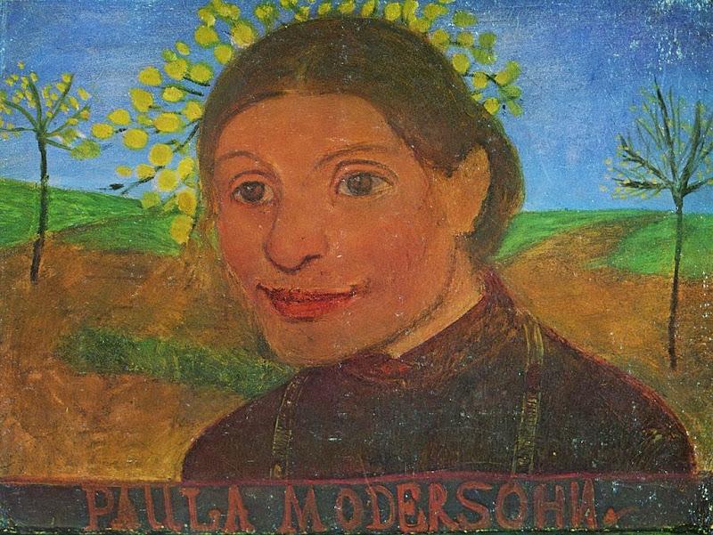 Paula Modersohn-Becker - Self portrait, 1902
