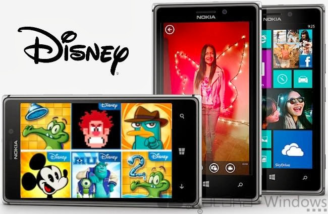 6 juegos Disney gratuitos para Windows Phone 8