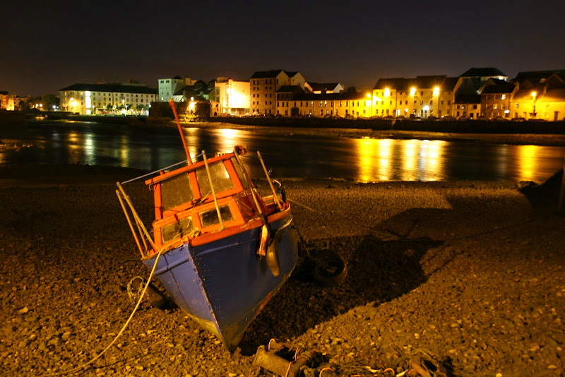 Galway by night. From Driving Ireland's Wild Atlantic Way