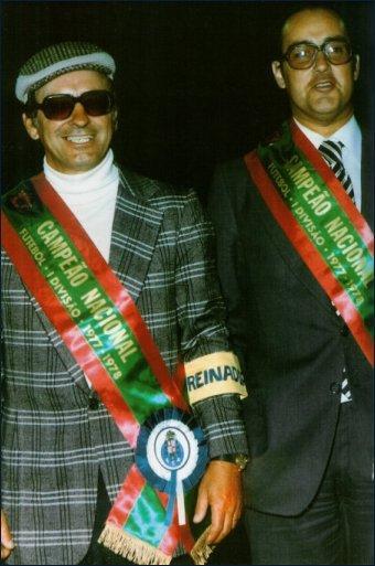 José Maria Pedroto e Pinto da Costa - campeões nacionais 19 anos depois