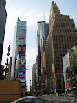 South end of Times Square, with what looks like the Ghost Busters or Daily Planet building on the right