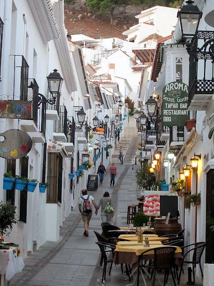Ruta por Andalucía. Calles de Mijas
