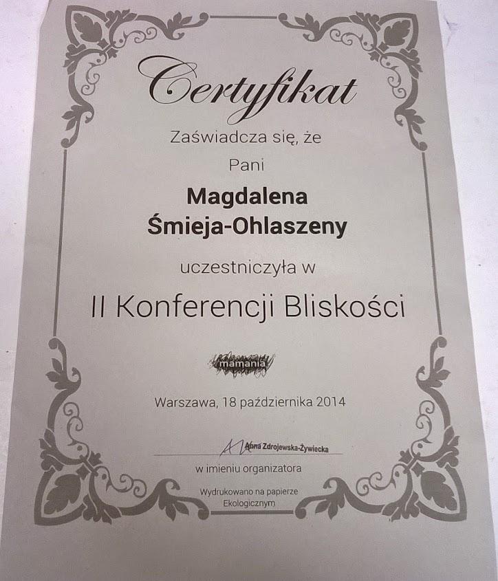 Certyfikat KB2015