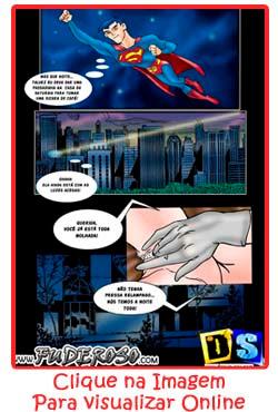 Superman – Fodendo loira poderosa
