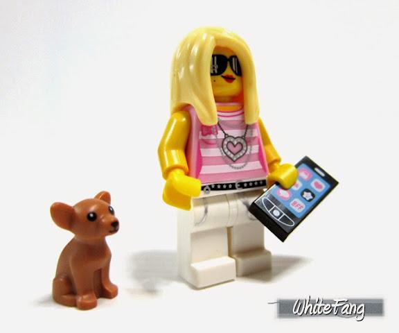 LEGO Minifigures Series 10 Trendsetter - Người tạo xu hướng
