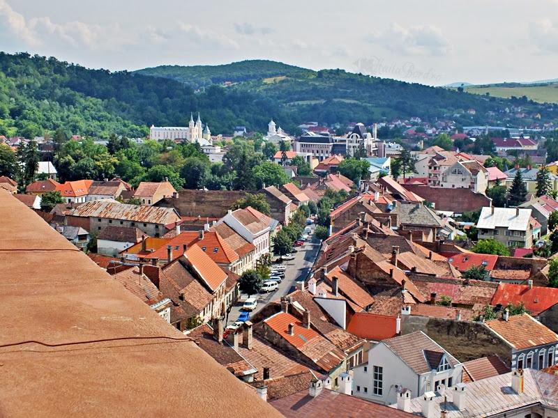 panorama biserica evanghelica bistrita