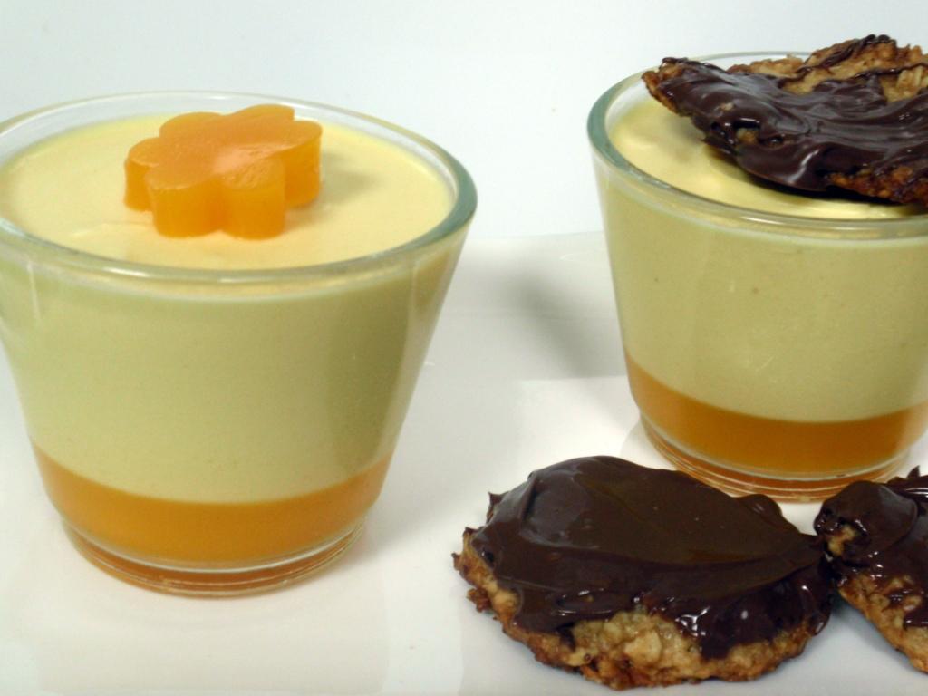 ... Loves Food: Daring Bakers Feb 2011 - Mango Panna Cotta and Florentines
