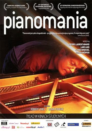Przód ulotki filmu 'Pianomania'