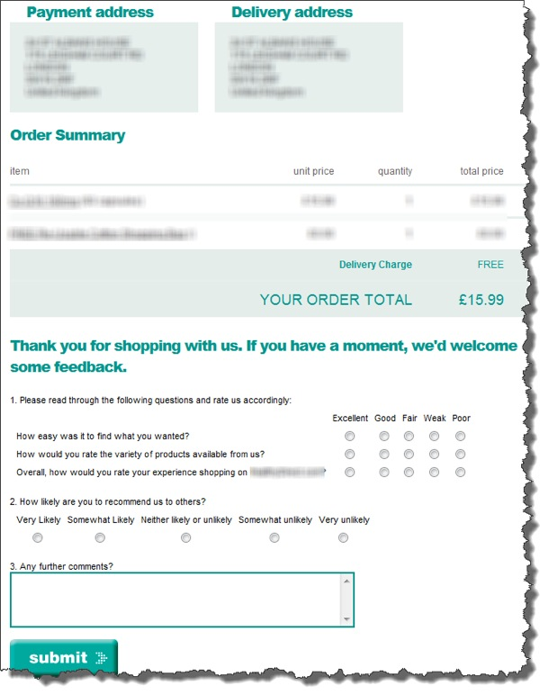 Best Practices For ECommerce Consumer Surveys Part One  Econsultancy
